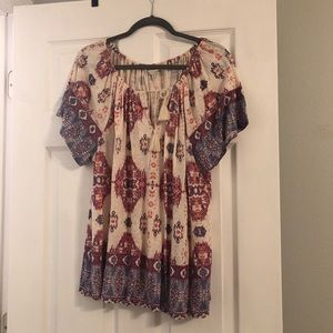 Lucky brand xl top with no signs of wear